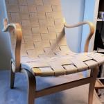 Eva stol i hampasadelgjord